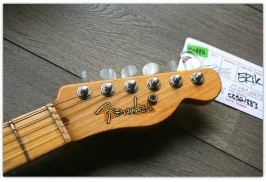 "Custom Shop Limited La Cabronita ""LUCHADOR"" Stratocaster® Black"