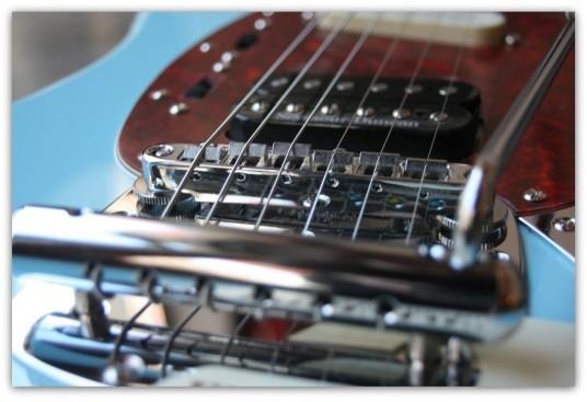 Kurt Cobain Mustang,Sonic Blue