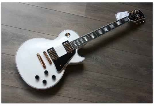 Les Paul Custom Artic White