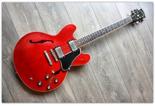 ES-335 Dot Reissue Cherry Original