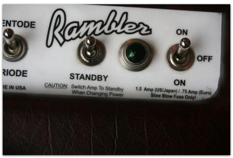 Rambler 2 x12 in Wine Color