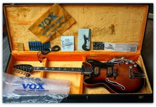 The V289 Vox Viper Guitar